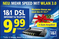1 & 1 Festnetz Internet DSL ohne Schufa Auskunft Prüfung