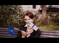 """Зуева Вероника , """" Золотая медалистка школы"""", студентка  Санкт-Петербургского гос. университета.буг"""