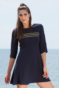 Crew uniform/ Navy blue dress