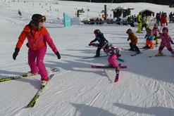 Zwergerlkurs 2019 SV DJK Heufeld Skiteam im Sudelfeld
