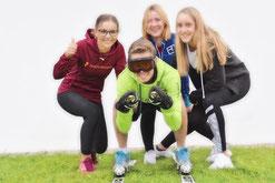 Bilder von der Skigymnastik 2017 /2018 in der Justus von Liebig Schule in Heufeld.