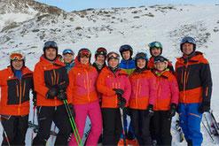Skilehrer WeiterbildungSV DJK Heufeld im Herbst 2019