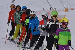 Fotos Skikurse 2018 des SV DJK Heufeld, Skiteam im Sudelfeld