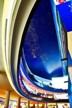 Der Himmel in der Dubai Mall