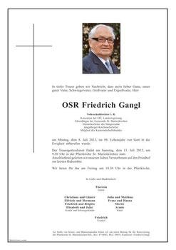 Parte Fritz Gangl