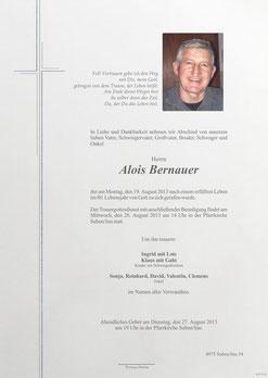 Parte Alois Bernauer