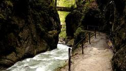 Partnachklamm bei Garmisch-Partenkirchen