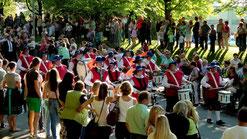 Münchberger Wiesenfest Historischer Jubiläums-Festzug