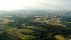 Hier blicken wir nach Bayreuth. © Copyright by Olaf Timm