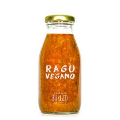 Salsa Vegana de tomate y verduras crujientes en bote de 250ml (Burgio-Sicilia) 6,50€