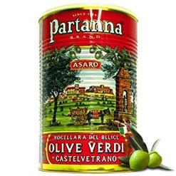 Aceitunas verdes Nocellara Del Belice al natural (al granel 20.60€/kg)