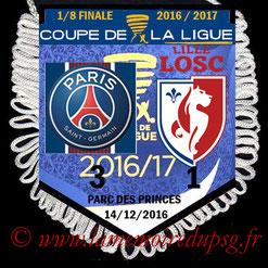 Fanion  PSG-Lille  2016-17