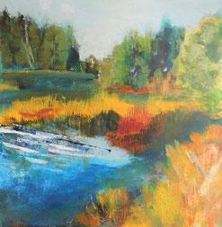 Natürlich Herbst, Streifzüge in Farbe von Christine Lukas