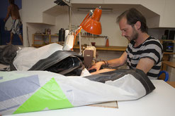 Kite reparieren, Kite nähen RD Customized