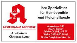 Arsterdamm Apotheke Arsten - Werbegemeinschaft Habenhausen-Arsten