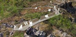 Mirador planificado en Piedras Llanas (De @patrimonionat)