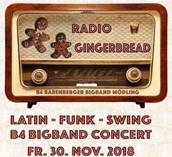 B4 Big Band Mödling Radio Gingerbread - Stadtgalerie Möding