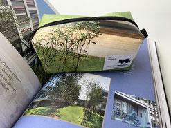 Upcycling-Tasche Made in Germany, alles handgemacht, lokal, nachhaltig und sozial. Perfekte Kundengeschenke, denn jede Tasche ein Einzelstück.