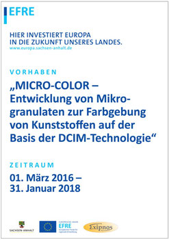 Forschungsprojekt MICRO-COLOR: Innovation made by Exipnos