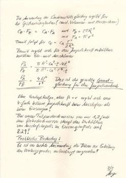 Pulsar, Die Berechnungen von Prof. C. F. Meyer 3
