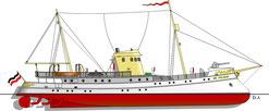 Pulsa, Schnell-Schiff