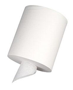 Caja de Rollo Fluído Céntrico Pétalo. 6 Rollos de 225 metros. Color Blanco