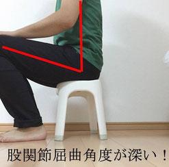 奈良県香芝市腰痛の女性
