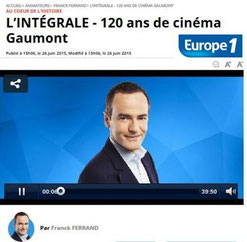 Europe 1 - Emilie Imbert Relations Presse