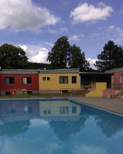 Terrassenbad: Das Kinderbecken