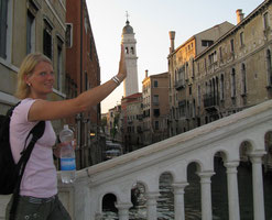 Ein Tagesausflug nach Venedig im Sommer 2008