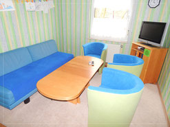 Fernsehzimmer im Obergeschoss Happy-family-domizil