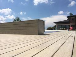 Terrassenboden Accoya vorvergraut  Stettlen - Terrassenboden Bern und Thun Zürcher Holzbau Bern AG