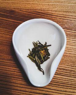 Aufnahme von Gruenen Tee in der Tushita Galerie in Muenchen von Floratcha.