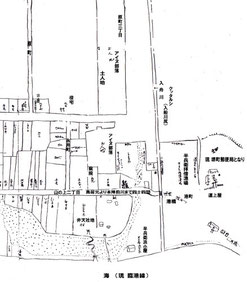 古地図メルヘン交差点~三本木急坂へ