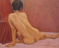 裸 婦 ( 油彩・F15 )