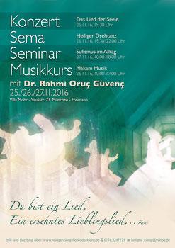 Oruç Güvenç, Tümata, Tümata München, Mohr Villa, Sufi Seminar München