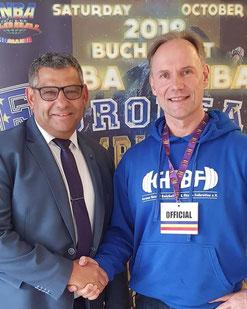 Viliam Rigo (President INBA Europe) and Berend Breitenstein (President GNBF)