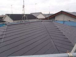 屋根塗替え