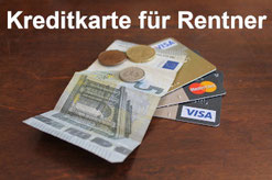 Kreditkarte für Rentner und Pensionäre