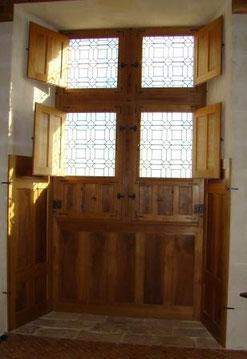 Philippe Brissy - atelier Théophile - Saumur - Val de Loire - vitrail géométrique