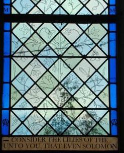 Philippe Brissy - atelier Théophile - Saumur - Val de Loire - vitrail ornemental - détail