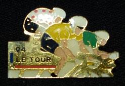 Tour de France 1994   Maillots Jaune - A pois rouges - Vert