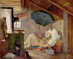 Spitzweg-Der arme Poet