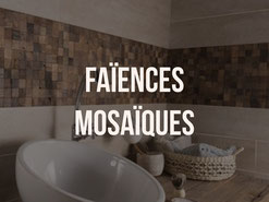 Pose de Faiences et mosaïques douche à l'italienne quimper