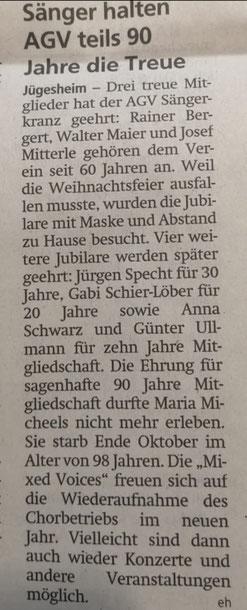 aus der Offenbach-Post vom 30.12.2020