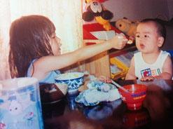 美奈海(4歳)、泉里(10か月)