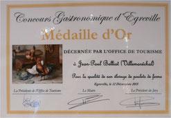 concours gastronomique Egreville