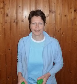 Übungsleiterin Dagmar Harter