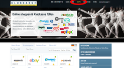 """Jetzt einfach auf """"Shops"""" klicken und den Onlineshop deiner Wahl anklicken"""