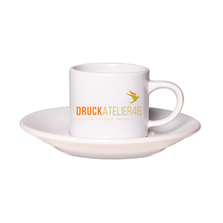 Druckatelier46 - Fotogeschenke - Tasse Vera inkl. Unterteller